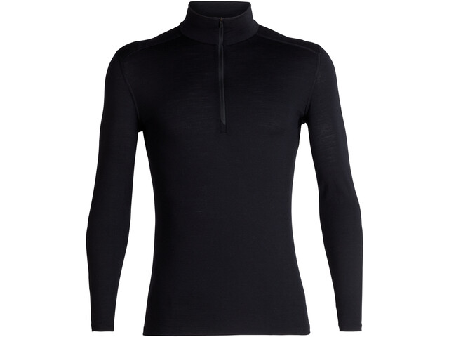 Icebreaker M's 200 Oasis LS Half Zip Shirt Black